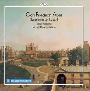 Carl Friedrich Abel: Symphonies Op. 1 & Op. 4 Product Image