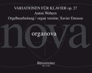 Anton Webern: Variationen For Piano Op. 27