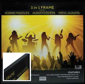 Iconic Concepts 3 in 1 Picture Frame Product Image