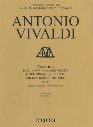 Antonio Vivaldi: Concerto RV 584