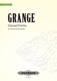 Grange, Philip: Carved Forms (score)