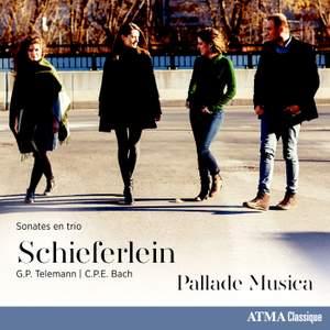 Telemann & C.P.E. Bach: Sonates en trio Product Image