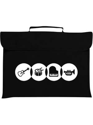 Mapac: Music Bag - Instruments (Black)