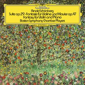 Schoenberg: Suite, Op.29; Phantasy For Violin And Piano, Op.47