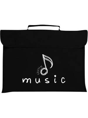 Mapac: Music Bag - Quaver (Black)