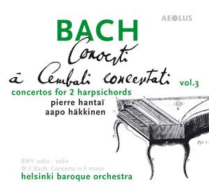 J S Bach: Concerto for Two Harpsichords