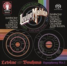 Levine conducts Mahler Symphonies Nos. 1 & 4 & Brahms: Symphony No. 1