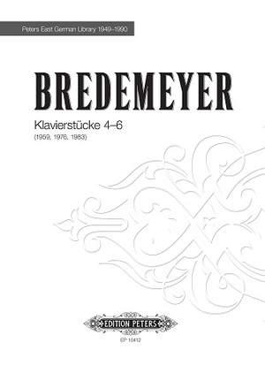 Bredemeyer, Reiner: Klavierstücke 4-6