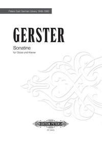 Gerster, Ottmar: Sonatine für Oboe und Klavier