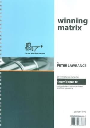 Winning Matrix for Trombone Treble Clef