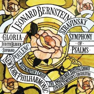 Poulenc: Gloria, FP 177 - Stravinsky: Symphony of Psalms (Remastered)