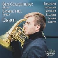 Ben Goldscheider: Debut