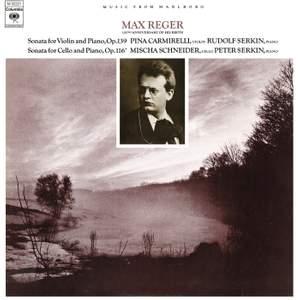 Reger: Violin Sonata No. 9, Op. 139 & Cello Sonata No. 4, Op. 116 Product Image