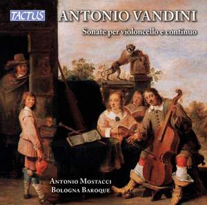 Vandini: Sonatas (6) for cello and continuo