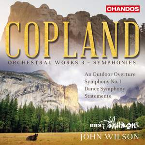 Copland: Orchestral Works, Vol. 3 - Symphonies Product Image