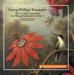 Telemann: The Grand Concertos For Mixed Instruments, Vol. 5 Product Image