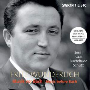 Fritz Wunderlich: Music Before Bach Product Image