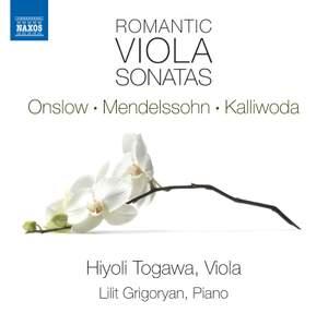 Romantic Viola Sonatas Product Image