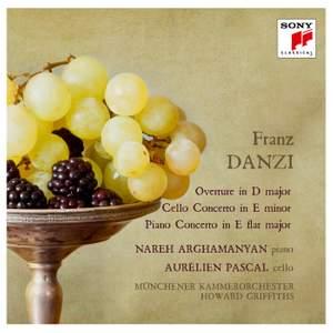 Danzi: Overture, Cello & Piano Concerto Product Image
