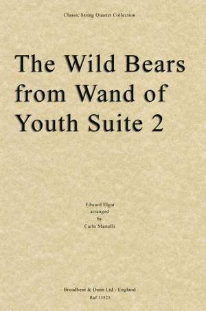Edward Elgar: The Wild Bears from Wand of Youth
