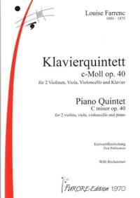 Louise Farrenc: Quintett C-Moll Op. 40