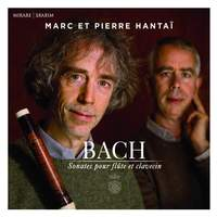 JS Bach: Sonates pour flûte et clavecin