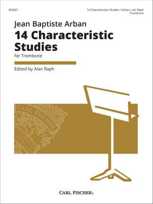 Jean-Baptiste Arban: 14 Characteristic Studies