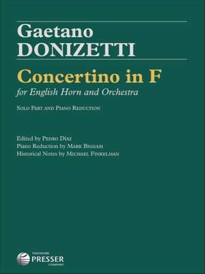 Gaetano Donizetti: Concertino in F