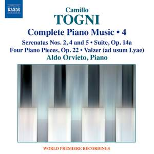 Togni: Complete Piano Music, Vol. 4