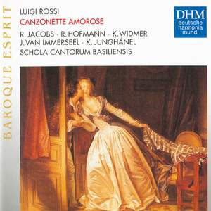 Rossi: Canzonette Amorosi