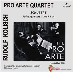 Schubert: String Quartets Nos. 8 & 13