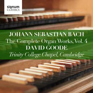Johann Sebastian Bach: The Complete Organ Works Vol. 4 Product Image
