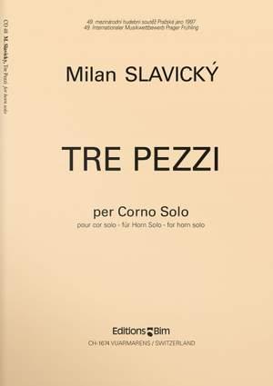 Milan Slavicky: Tre Pezzi Product Image