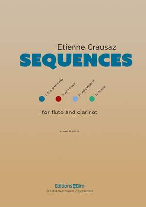 Etienne Crausaz: Sequences Product Image