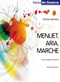 Pascal Gervais: Menuet, Aria, Marche