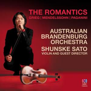 The Romantics: Grieg, Mendelssohn, Paganini Product Image