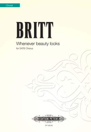 Britt, Colin: Whenever Beauty Looks