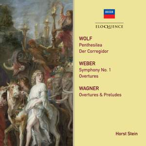 Wolf, Weber, Wagner: Orchestral Works