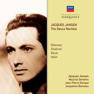 Jacques Jansen - The Decca Recitals Product Image