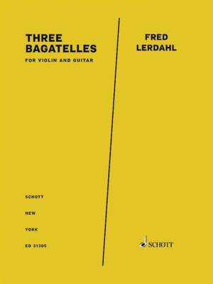 Lerdahl, F: Three Bagatelles