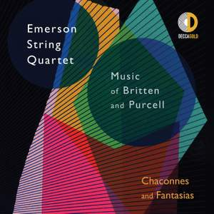 Chaconnes and Fantasias: Music of Britten and Purcell Product Image