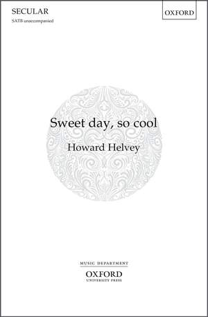 Helvey, Howard: Sweet day, so cool