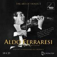Aldo Ferraresi - The Art of Violin Vol. 1