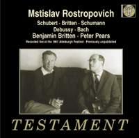 Rostropovich & Britten at the 1961 Aldeburgh Music Festival