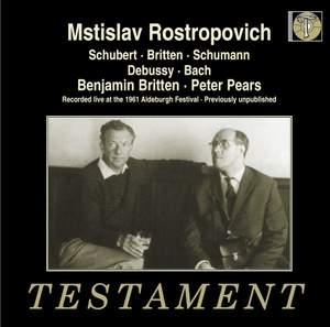 Rostropovich & Britten Product Image