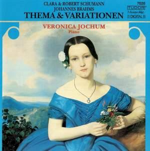 R. Schumann, C. Schumann & Brahms: Themes & Variations