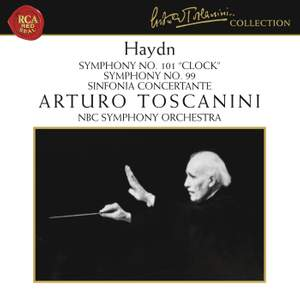 Haydn: Symphonies Nos. 99, 101 & Sinfonia concertante Product Image