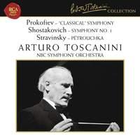 Prokofiev: Symphony No. 1 'Classical', Shostakovich: Symphony No. 1 & Stravinsky: Pétrouchka