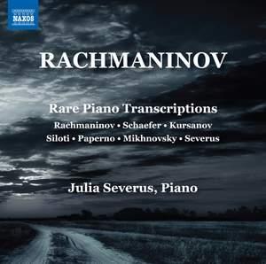 Rachmaninov: Rare Piano Transcriptions Product Image