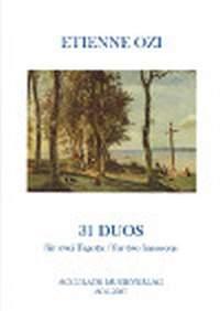 Etienne Ozi: 31 Duos Aus Der Nouvelle Methode De Basson